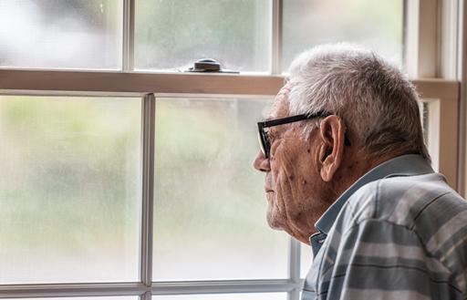 Old people meet